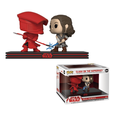 Star Wars POP Movie Moments Rey & Praetorian Guard | Double Project