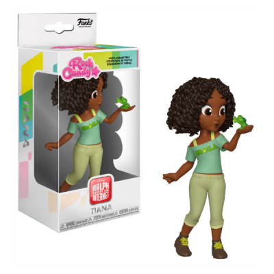 Rock Candy Ralph Rompe internet Disney Comfy Princesses Tiana | Double Project
