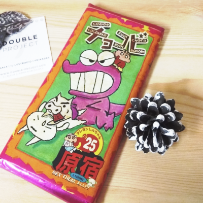 ShinChan tableta de chocolate Crayon Chocobar | Double Project
