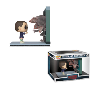 Stranger Things Movie Moment POP Eleven and Demogorgon | Double Project