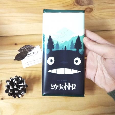 Totoro Tableta de Chocolate Ghibli | Double Project
