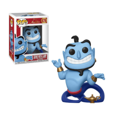 Aladdin POP Genie with Lamp | Double Project