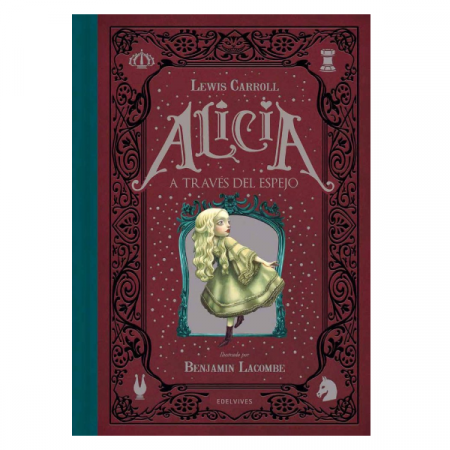 Libro Alicia a través del espejo   Double Project
