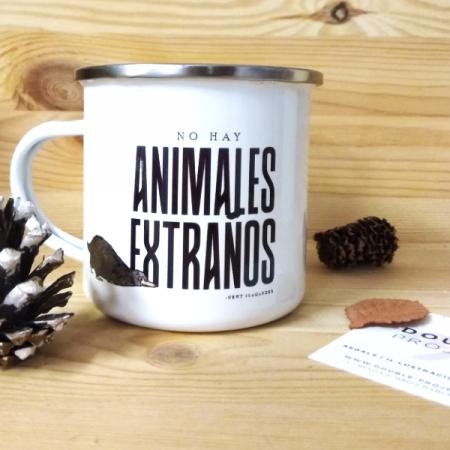 Taza metálica No hay Animales Extraños | Double Project