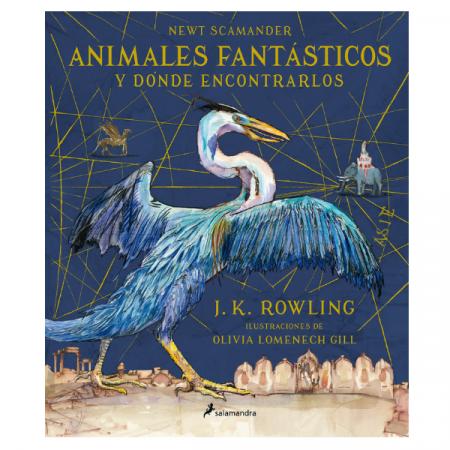 Libro Newt Scamander Animales Fantásticos y Dónde encontrarlos | Double Project