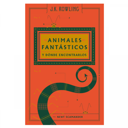 Libro Animales Fantásticos y Donde Encontrarlos | Double Project