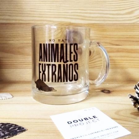 Taza cristal No hay Animales extraños | Double Project