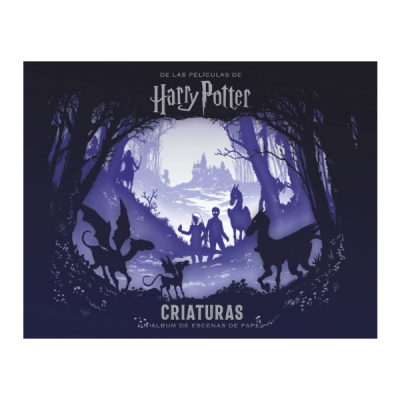 Libro Harry Potter Criaturas un álbum de escenas de papel | Double Project