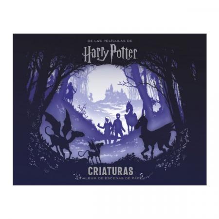 Libro Harry Potter Criaturas un álbum de escenas de papel | Double Project