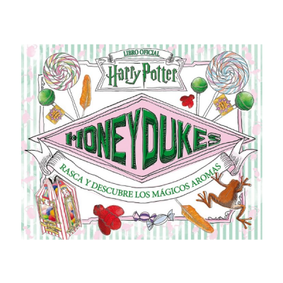 Libro Harry Potter Honeydukes rasca y descubre mágicos aromas | Double Project