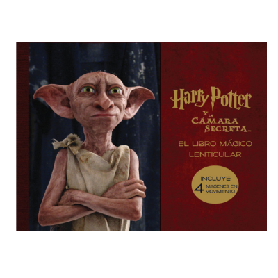 Libro mágico lenticular de Harry Potter y la cámara secreta | Double Project
