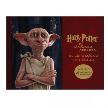 Libro mágico lenticular de Harry Potter y la cámara secreta | Double Project