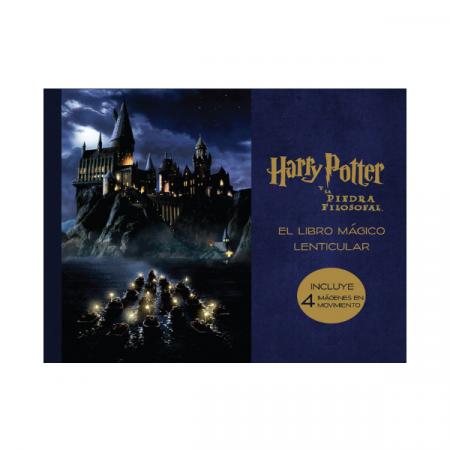 Libro mágico lenticular de Harry Potter y la piedra filosofal | Double Project