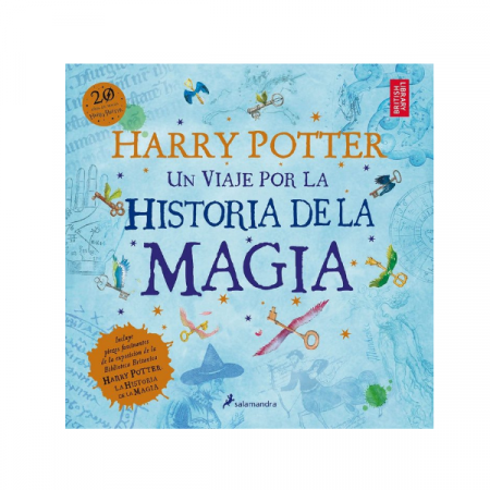 Libro Harry Potter un viaje por la historia de la magia | Double Project