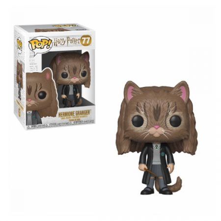 Harry Potter POP Hermione as cat | Double Project