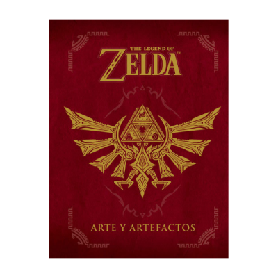 Libro The Legend of Zelda arte y artefactos | Double Project