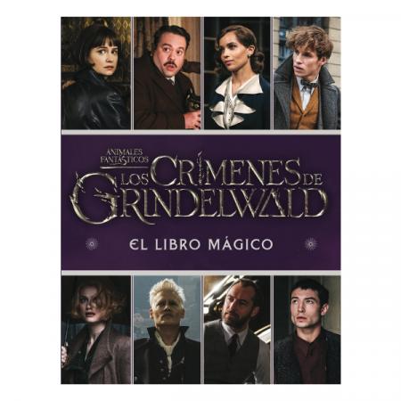 Libro Animales Fantásticos Los crimenes de Grindelwald