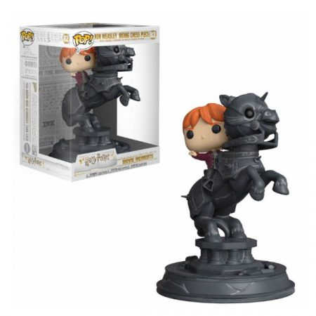 Harry Potter POP Movie Moments Ron Riding Chess Piece   Double Project