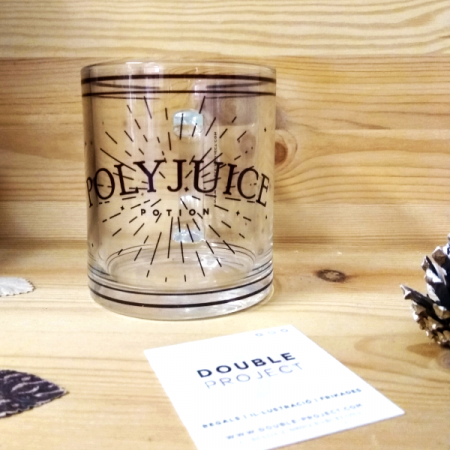 Taza Cristal Polyjuice potion | Double Project