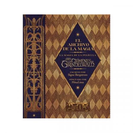 Libro El Archivo de la magia, La magia de la película Animales Fantásticos y los Crímenes de Grindelwald | Double Project