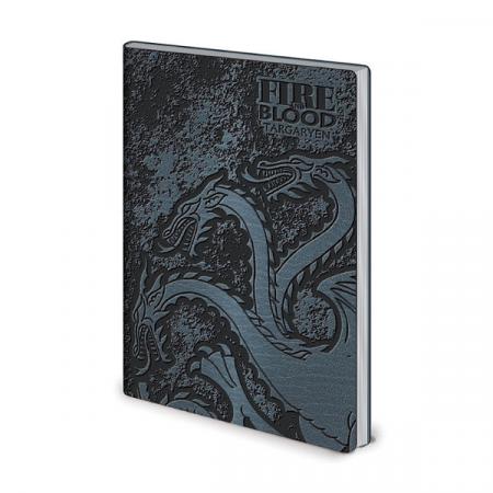 Juego de Tronos Cuaderno A5 Targaryen | Double Project