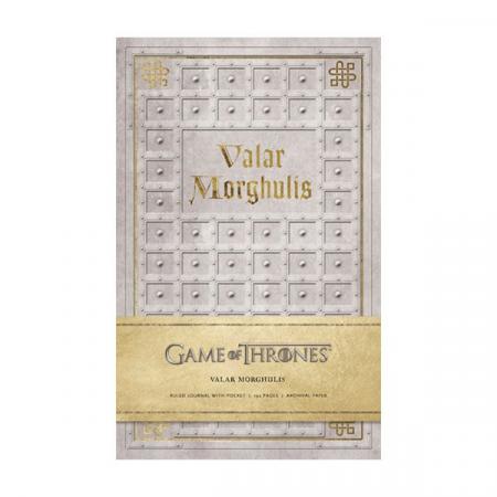 Juego de Tronos libreta premium Valar Morghulis | Double Project