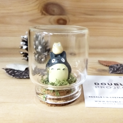 Montaje Cristal Totoro & mini totoro | Double Project