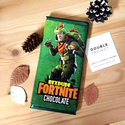 Fortnite Tableta Chocolate Rex Dude | Double Project
