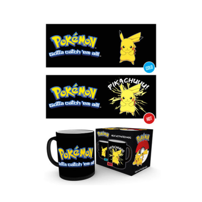 Taza térmica Pikachu Pokemon | Double Project