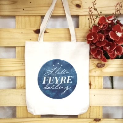 Bolsa de Lino Hello, Feyre Darling | Double Project