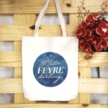 Bolsa de Lino Hello, Feyre Darling | Double Project