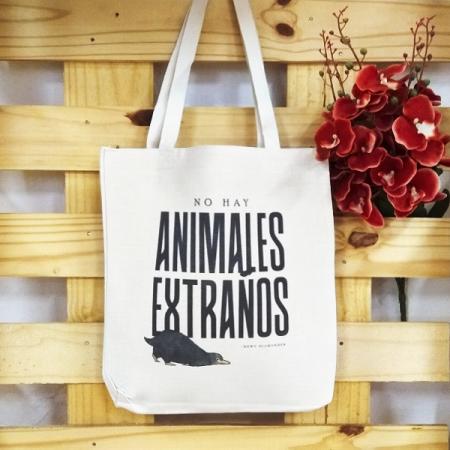 Bolsa de lino No hay Animales extraños | Double Project