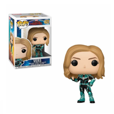 Captain Marvel POP Vers | Double Project