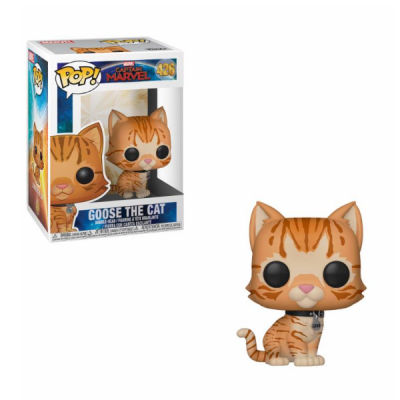 Captain Marvel POP Goose The Cat | Double Project