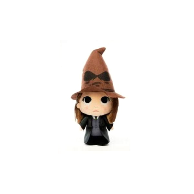 Harry Potter Peluche Super Cute Hermione with Sorting Hat | Double Project