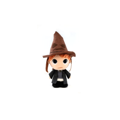 Harry Potter Peluche Super Cute Ron with Sorting Hat