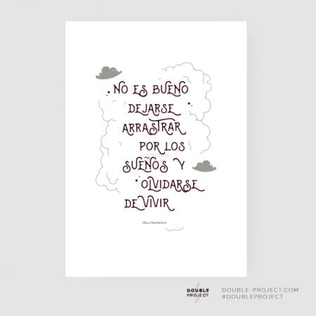 Lámina frase Dumbledore Harry | Double Project