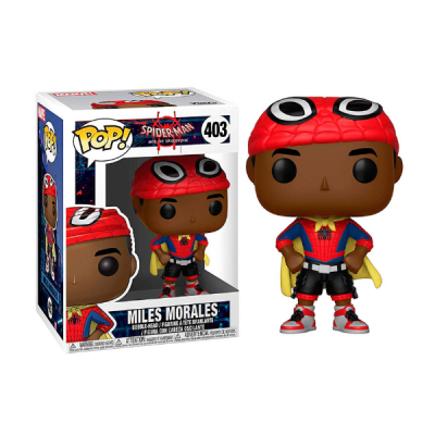 Spider-man Into the Spiderverse POP Miles Morales | Double Project