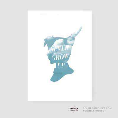 Lámina Never Grow Up | Double Project
