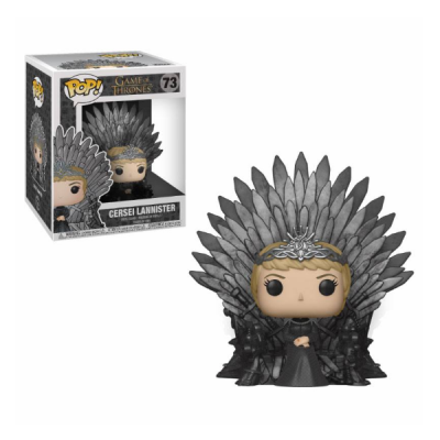 Juego de Tronos POP Deluxe Cersei Lannister on Iron Throne | Double Project
