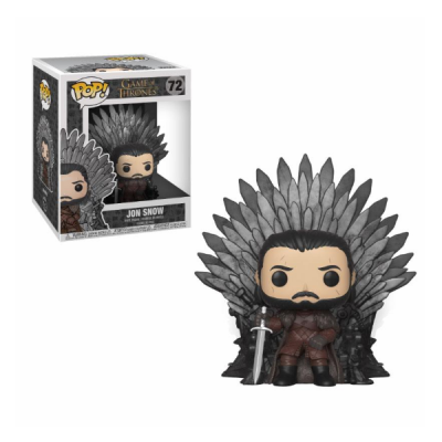 Juego de Tronos POP Deluxe Jon Snow on Iron Throne | Double Project