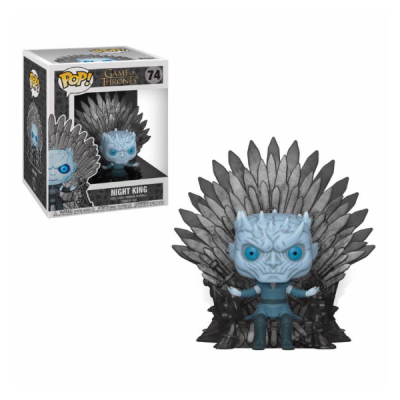 Juego de Tronos POP Deluxe Night Link on Iron Throne | Double Project