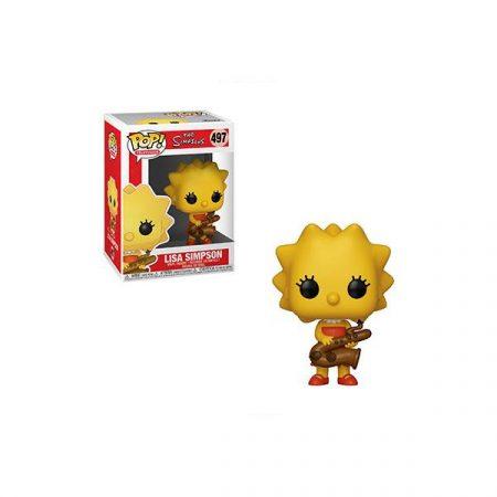 Los Simpson POP Lisa Simpson | Double