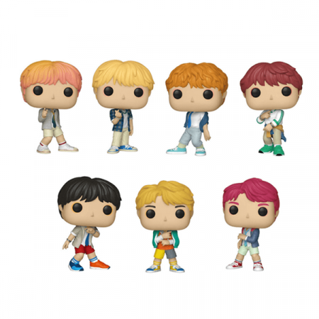 Pack BTS POP Rap Monster V Jungkook Jin Jimin Suga J-Hope | Double Project