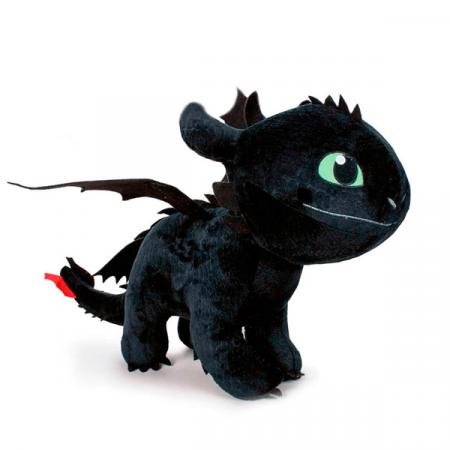 Cómo entrenar a tu dragón 3 Peluche Desdentado 60cm | Double Project