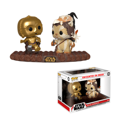 Star Wars POP C-3PO on Throne Movie Moments | Double Project