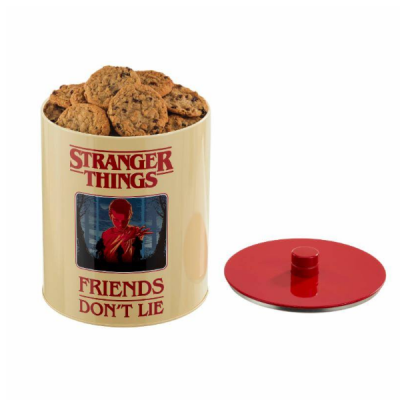 Stranger Things Retro Bote para galletas poster Stranger Things | Double Project