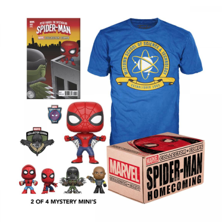 Marvel Pack Collector Corps Box Spider-man Homecoming M | Double Project