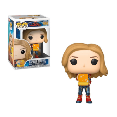 Captain Marvel POP Captain Marvel with Lunch Box | Double Project