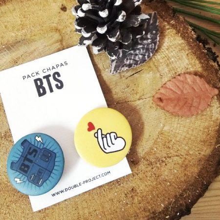 Pack Chapas BTS | Double Project